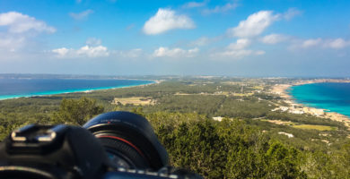 Fotografiando Formentera des del mirador
